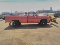 Used Chevy 2500 truck facing right